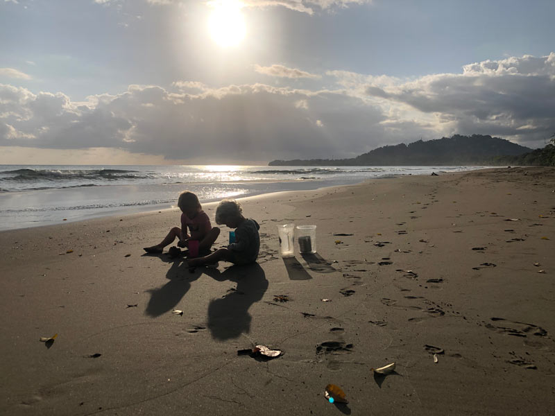 The Wide Open Road   Digital Nomad Kids in Quarantine   Sneak to the Beach